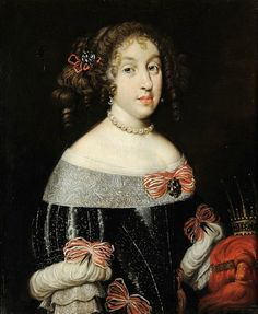 Mother of the Last Medici - Marguerite Louise of Orléans, Grand Duchess of Tuscany (1645-1721) married Grand Duke Cosimo III. of Tuscany (1642-1723); marriage on 20. June 1661