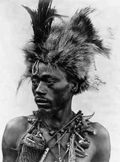 Africa - Zimbabwe - Victoria Falls - Witch Doctor with headdress , 1920 African Witch Doctor, Tanzania, Love Spell Caster, Daddy, We Are The World, Victoria Falls, African Men, Zulu, Love Spells