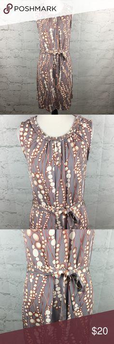 Audrey Mai Shift Dress Sz 4 Gorgeous pattern Shift dress with belt. Size 4. Excellent Condition audrey mai Dresses