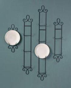 Narrow Three Plate Hanger - Vertical