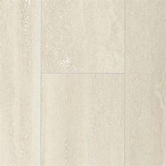 Pergo Max 11-1/8-in W x 23-7/8-in L Linen Travertine Laminate Flooring
