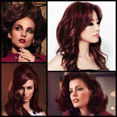 Red hair is gorgeous, but it's a big statement. And for some personalities (and skin tones) it's just to much…until now. This rich blend of burgundy and copper creates a customized shade that inclu...