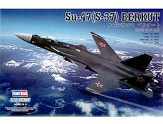 The Hobby Boss 1/72 Sukhoi Su-47 S-37 Berkut plastic aircraft model accurately recreates the real life Russian experimental jet fighter. This plastic aircraft kit requires paint and glue to complete.