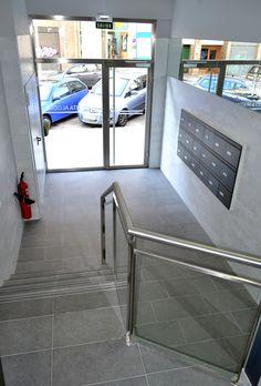 Caminos accesible para que todos diseñado por Monente Arquitectura, incluso las sillas de ruedas, tengamos los mismos derechos, en Santa Alodia 4, Pamplona