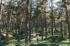 Séance engagement montagne et forêt / photographe reego / + sur withalovelikethat.fr
