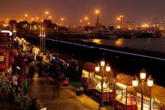 Port Grand by Night, Karachi, Pakistan.