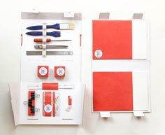 Thread Paper Scissors - Book Binding Kit (Student Project) on Packaging of the World - Creative Package Design Gallery