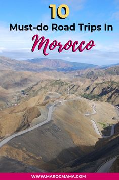 Road trips in Morocco can be quite awesome! Here are some great road trip ideas to consider. Morocco Travel, Africa Travel, Visit Marrakech, Desert Tour, Road Trips, The Locals, Travel Inspiration, Things To Do, National Parks