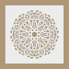 Motivo de Mandala - plantilla de la geometría sagrada