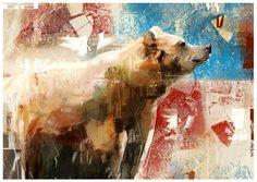 Animal Illustration by Denis Gonchar