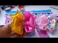 ROSA TORBELLINO CON PEDRERIA, craft,tutorials,how to do bows,tutoriales,vinchas,balacas,cintillos - YouTube