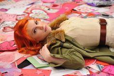 Neon Orange Hair (Hayley Williams)