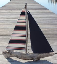 driftwood sailboat. By The Bay Creations