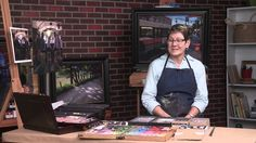 ArtistsNetwork.TV Interview with Christine Ivers #pastel #artists #art #painting