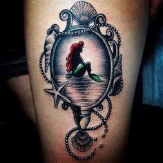 Tatuaje de la sirenita