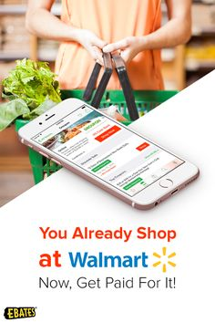 Sign up today for Ebates today and you\'ll get a free $10 Walmart gift card or a $10 Ebates cash bonus when you spend your first $25! Download the free app to get started.