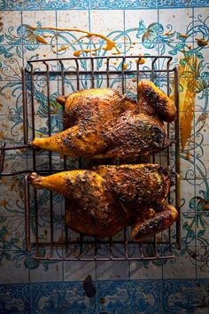 This fragrant spice-rubbed grilled chicken was a favorite of SAVEUR assistant editor Felicia Campbell when she was deployed to Iraq.
