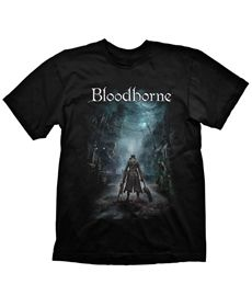 T-Shirt Bloodborne Night Street M Medium