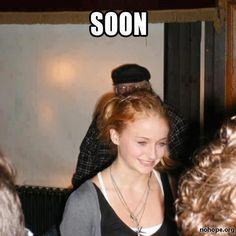 Game of Thrones_Sansa Stark Bran Stark, Sansa Stark, Valar Morghulis, Martin Meme, Jon Snow, George Rr Martin, My Champion, Game Of Thrones Funny, Got Memes