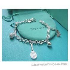 Tiffany And Co Unique Tennis Charms Bracelet Funny Play Sport
