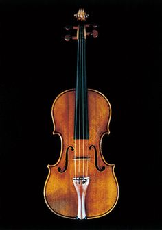 """Stradivarius 1736 Violin Muntz The label attached to this instrument bears an Italian inscription, """"d'anni 92 (92 years old)"""", handwritten by Stradivari himself. It has a first class reputation for its excellent condition and tonal quality. This violin takes its name from a famous collector and amateur violinist, H.M.Muntz of Birmingham, England, who owned it in the late 1800s. This is one of the last instruments made by Stradivari, who passed away in 1737."""