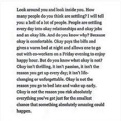 Perfectly said ❤️