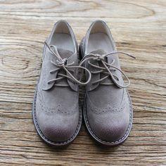 Encontrar Más Pisos de la Mujer Información acerca de Nuevo 2016 del cuero genuino zapatos hechos a mano puros Mori niña departamento de literatura retro zapatos, Women ' s casual zapatos, 2 colores, alta calidad zapatos creepers, China zapato den Proveedores, barato zapatos zapatos de los niños de Everyone likes en Aliexpress.com
