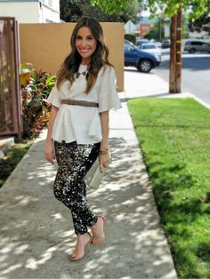 Sequin Leggings