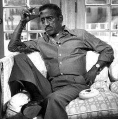Sammy Davis, Jr., aka Mister Show Business, entertainer, dancer, singer, and member of the Brat Pack. He became known for both his impersonations of actors and his performances on Broadway & Las Vegas, going on to become a world famous recording artist, TV & film star. As an African American, he was the victim of racism throughout his life and was a large financial supporter of civil rights causes, yet had a complex relationship with the Black community. He lost his left eye in an car…