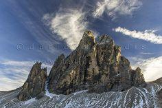 130950  Zwölferkofel in den Sextener Dolomiten
