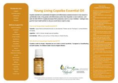 Say Goodbye to Inflammation with Young Living Copaiba Essential Oil