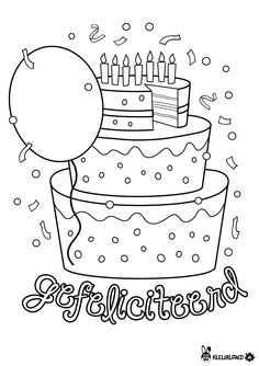 Coloring for adults - Kleuren voor volwassenen Preschool Coloring Pages, Horse Coloring Pages, Mandala Coloring Pages, Colouring Pages, Coloring Sheets, Happy Birthday Uncle, School Birthday, 9th Birthday, Happy Birthday Coloring Pages