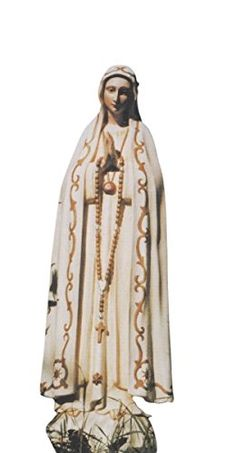 Fatima Statue Weatherproof with Schutzwachs 375 ml *** For more information, visit image link. (This is an affiliate link) Dessert Wine, Catholic, Duster Coat, Kimono Top, Image Link, Statue, Detail, Tops, Dresses