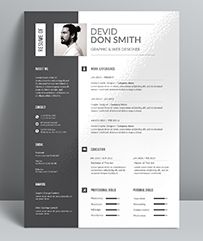 Buy Resume by themedevisers on GraphicRiver. Elegant page designs are easy to use and customize, so you can quickly tailor-make your resume. Resume Words, Resume Cv, Resume Design, Cv Template, Resume Templates, Resume Format For Freshers, It Cv, Resume Writing Tips, Page Design