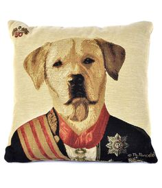 Labrador Cushion from Joanna Wood Shop | www.joannawood.co.uk #labrador #cushion #countryretreat