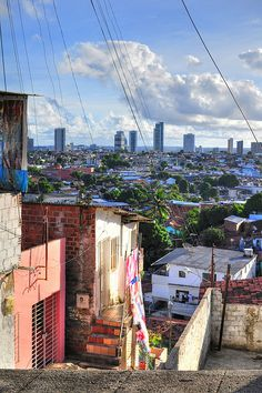 """Recife, as seen from the favela,"" Pernambuco, Brazil. Photo: adiencl via Flickr"