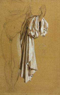 Joseph-Ferdinand Lancrenon, Study of Drapery