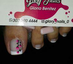 Cute Pedicures, Pedicure Nails, Manicure, Gorgeous Nails, Love Nails, Magic Nails, Toe Nail Designs, Toe Nail Art, Hair Beauty