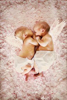 Little angels...so sweet...