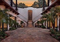 Fabulous hacienda style homes ideas...decorating tips (paint color, accessories, etc) for small spanish hacienda house (exterior & interior design).