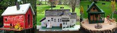 Ron's Rustic Birdhouses Presents....Country Living Birdhouse