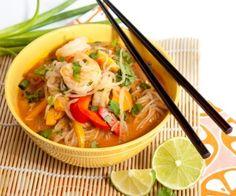 curry shrimp shirataki noodles