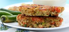Quinoa Cakes with Smoked Fish and Lime Mayo from EA Stewart blog - looks yummy for dinner