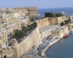 Malta, Europe, Fortification mediterranean coast