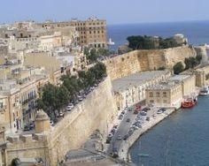 Malta, Europe, Fortification mediterranean coast