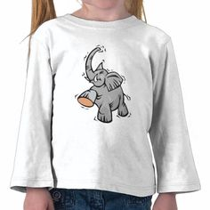 Happy Elephant T Shirts