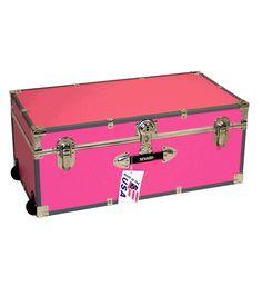 Footlocker Trunk, hot pink {Mercury Luggage}