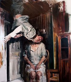 DAN-VOINEA-01 - I am not sure what to make of this artist. His images are unsettling but his painterly style is incredible!!
