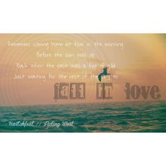 Switchfoot // Fading West // Slipping Away