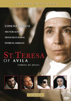ST. TERESA OF AVILA - A powerful epic mini-series shot on location in Spain that tells the story of one of the most amazing women in history, St. Teresa of Avila. With meticulous attention to detail and historical accuracy, outstanding production values, and an incredible performance by actress Concha Velasco as Teresa, this acclaimed major film production is the definitive film on the life of this great saint. DVD, 3 discs, $39.95.